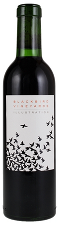 Blackbird Vineyards Illustration